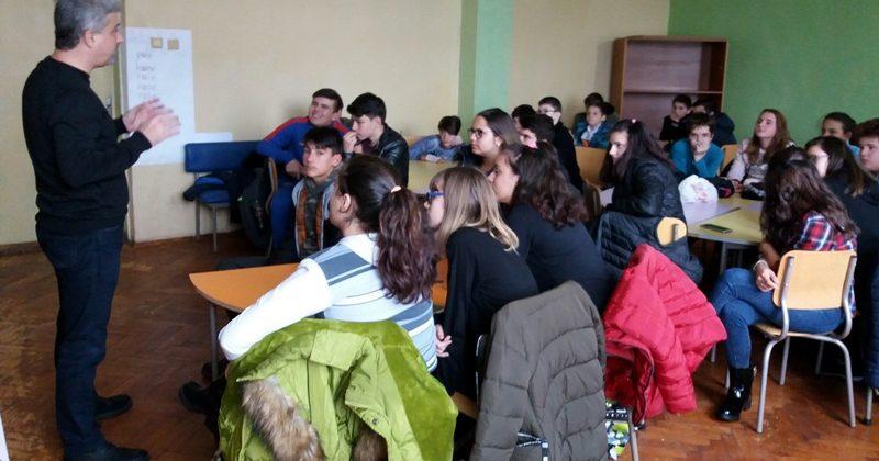 """В ОУ """"Св. Климент Охридски"""" – Плевен се проведе дискусия за новите психоактивни вещества"""
