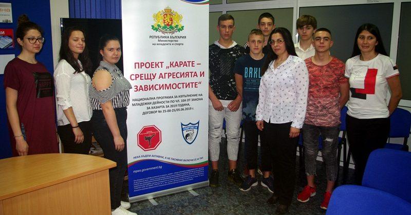 Млади спортисти от Плевен залагат на каратето, като средство срещу агресията и зависимостите